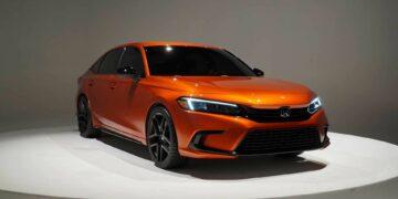 Pengenalan Prototipe Honda Civic 2022 9