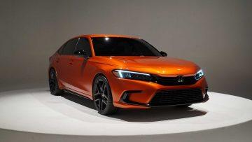 Pengenalan Prototipe Honda Civic 2022 22