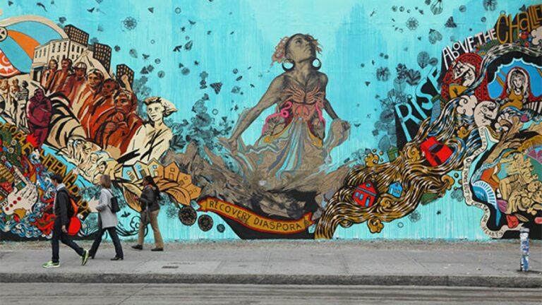 """""""Street Art"""" atau Karya Seni Jalanan Yang Membuat Kota Lebih Hidup 1"""