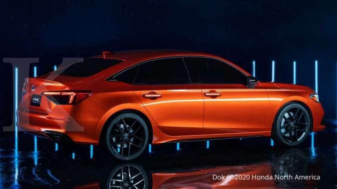 Pengenalan Prototipe Honda Civic 2022 3
