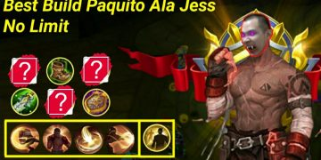 Mobile Legend : Best Build Paquito Ala Jess No Limit, Sekali Combo Lawan Mati! 20