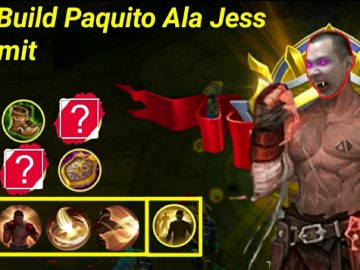 Mobile Legend : Best Build Paquito Ala Jess No Limit, Sekali Combo Lawan Mati! 21