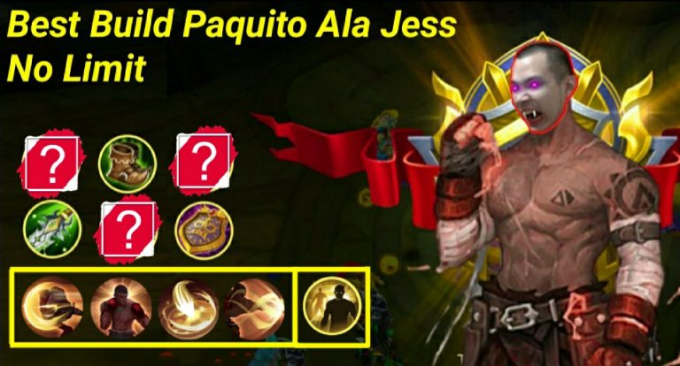 Mobile Legend : Best Build Paquito Ala Jess No Limit, Sekali Combo Lawan Mati! 1