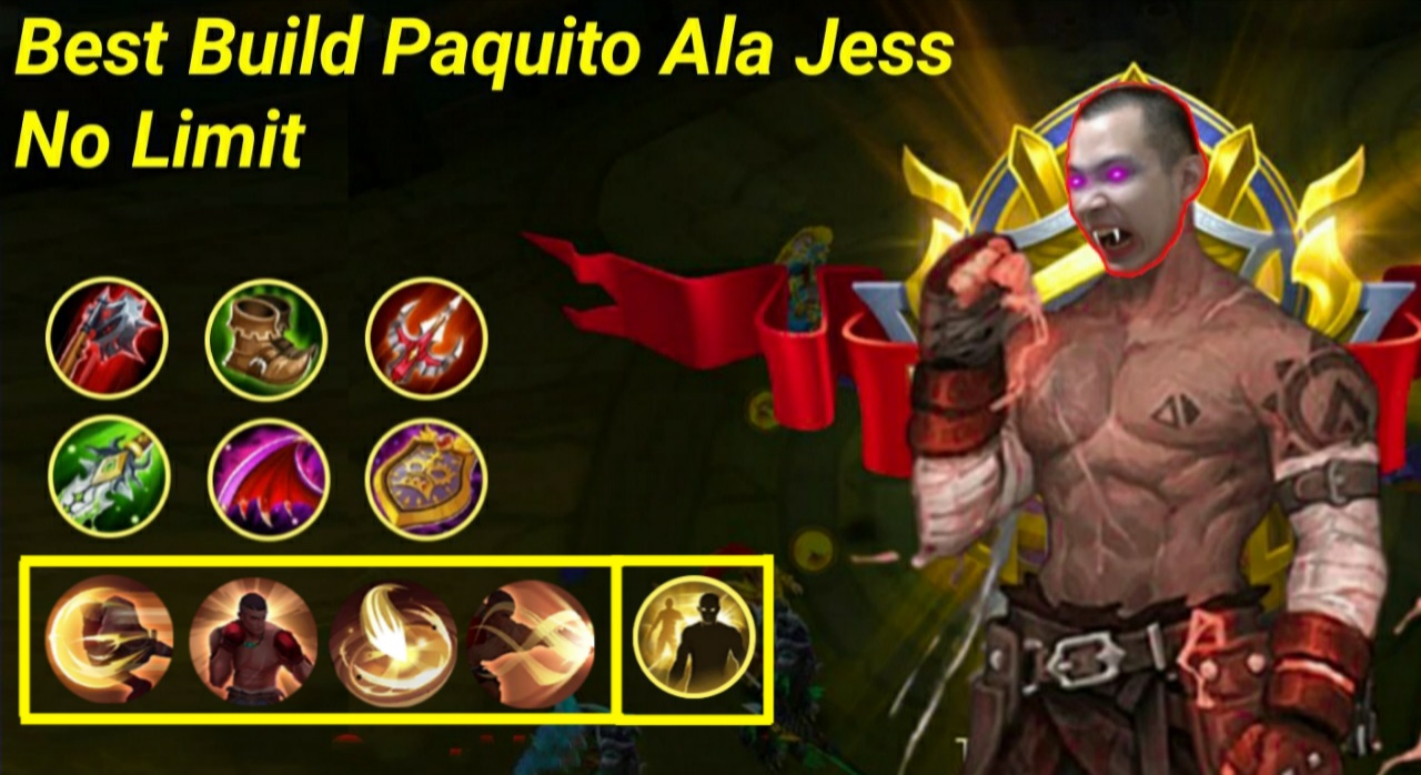 Mobile Legend : Best Build Paquito Ala Jess No Limit, Sekali Combo Lawan Mati! 9