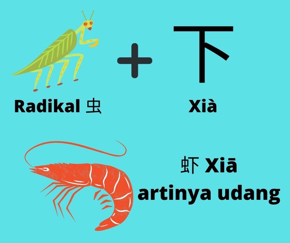 """Belajar Menulis Karakter Bahasa Mandarin dengan Metode """"Radikal"""" 6"""
