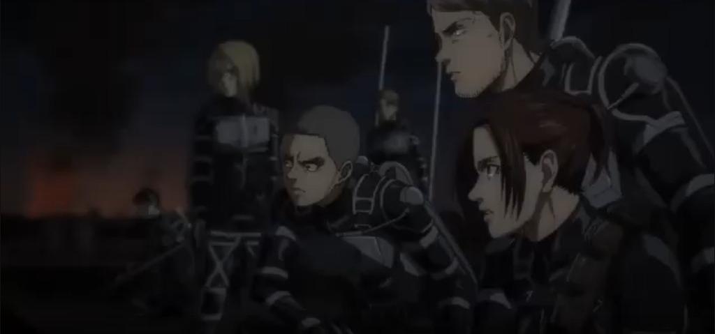 Anime Attack on Titan Final Season Episode 6 : Munculnya Raksasa Palu Perang 9