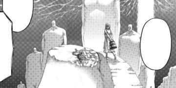 Manga Shingeki No Kyojin : Ymir Telah Berniat Memakan Armin 24