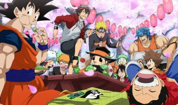5 Anime yang Banyak Diwarnai Kelakuan Konyol Para Tokohnya 1