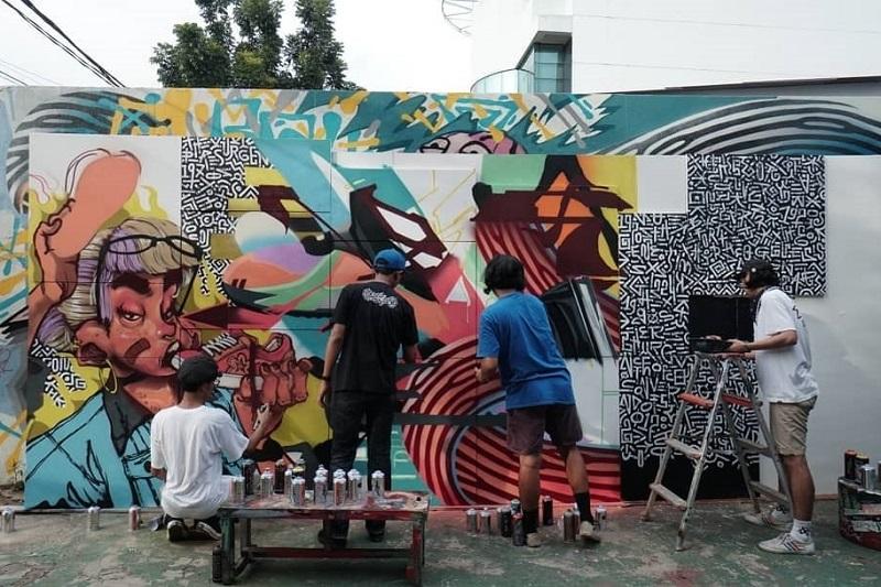 """""""Street Art"""" atau Karya Seni Jalanan Yang Membuat Kota Lebih Hidup 3"""