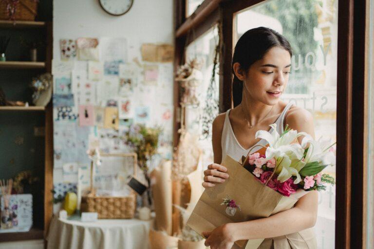 Seindah Bunga Lili Putih 1