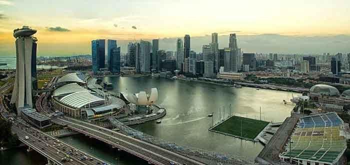 Stadion Unik Terapung Terbesar di Dunia, Podium Apung Marina Bay, Singapore 6
