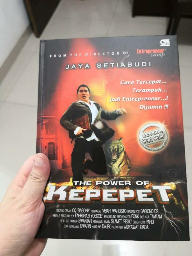 "Resume buku ""The Power Of Kepepet"" 1"