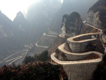 Road to Heaven, Jalur Berbahaya di Xiushan China 4