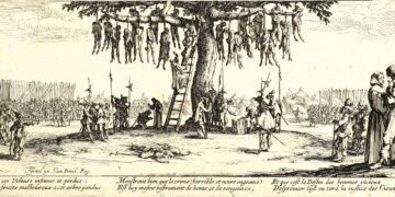 Les Grandes Misères de la guerre, Lukisan tentang Konflik Agama & Negara Eropa 17