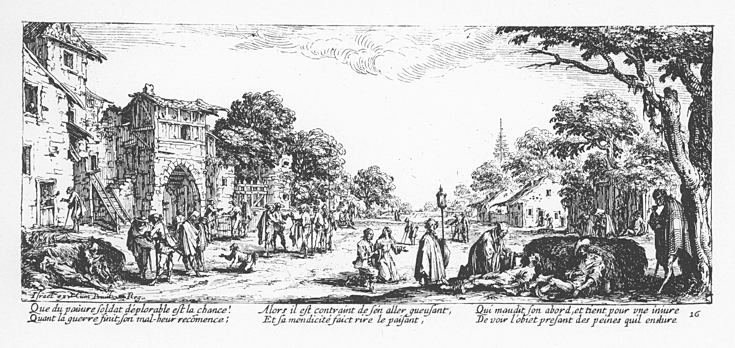 Les mendiants et les mourants.Sumber gambar: wikimedia.org