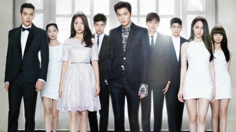 Drama Korea populer tentang Sekolah bergengsi dan berkasta (diperankan Lee Min-Ho) 1