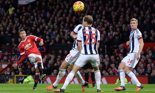 Lingard cetak gol ke gawang West Bromwich Albion