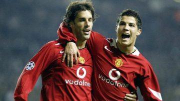 Dari Baku Pukul Hingga Makian Van Nistelrooy Kepada Ronaldo 4