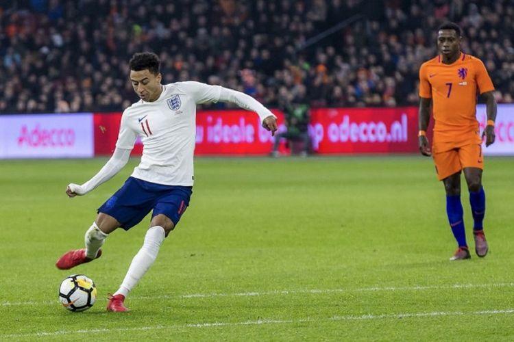 Lingard vs Belanda