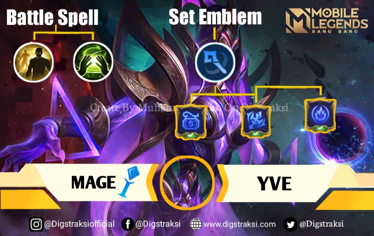 Mobile Legend : Build & Item Yve Serta Gameplay Terbaik, Musuh Gak Berkutip! 9