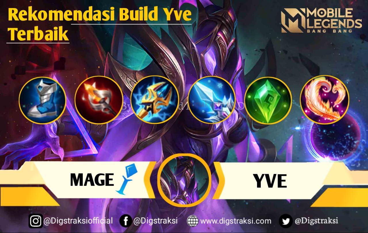 Mobile Legend : Build & Item Yve Serta Gameplay Terbaik, Musuh Gak Berkutip! 8