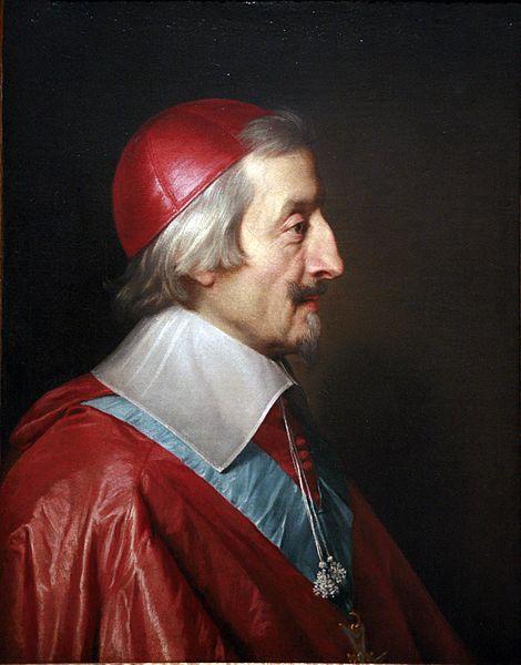 Kardinal Richeliu.Sumber gambar: wikimedia.org