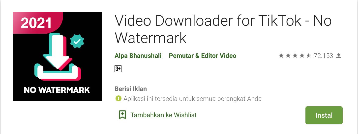 Tutorial Cara Unduh Video TikTok Dengan Mudah (Bisa Tanpa Watermark) 4