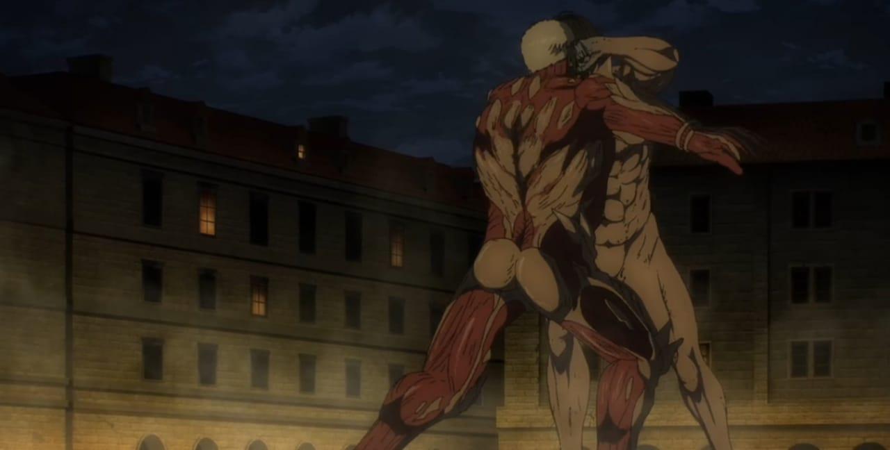 Kematian Sasha Yang Tragis, Begini Cerita Lengkap Attack On Titan Eps 8 Season 4 3