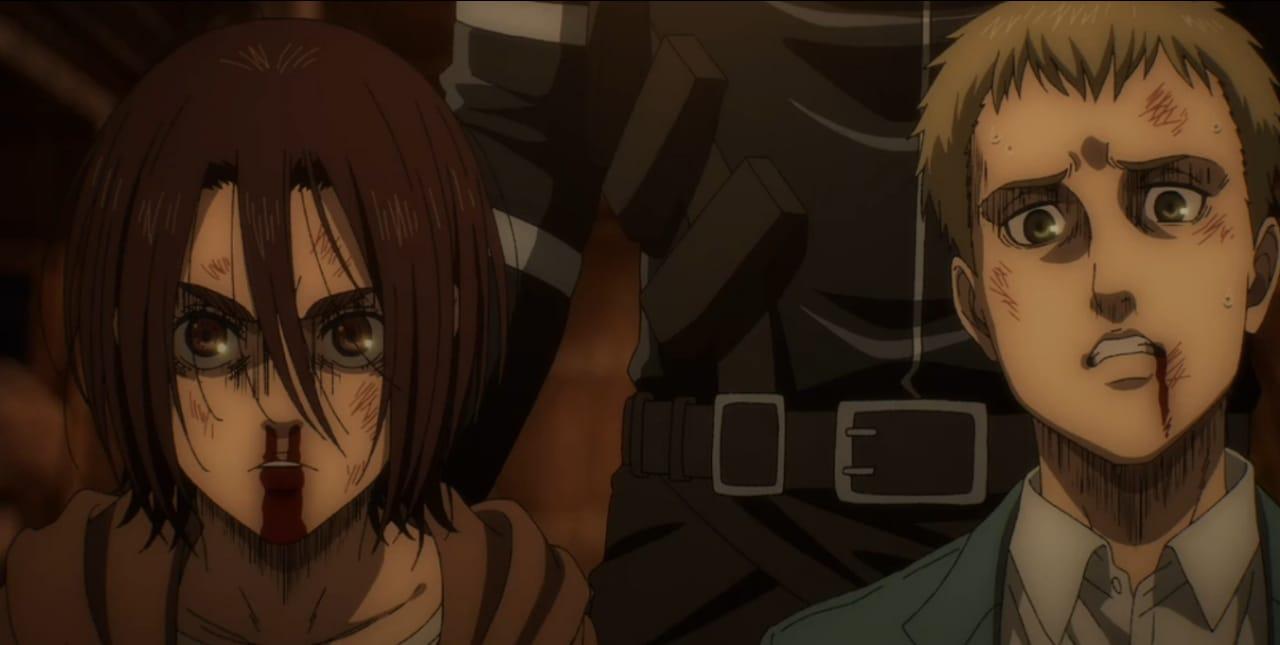 Kematian Sasha Yang Tragis, Begini Cerita Lengkap Attack On Titan Eps 8 Season 4 9