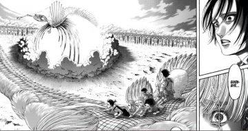 Manga Attack on Titan Chapter 137, Kematian Zeke dan Terhentinya Rumbling 20
