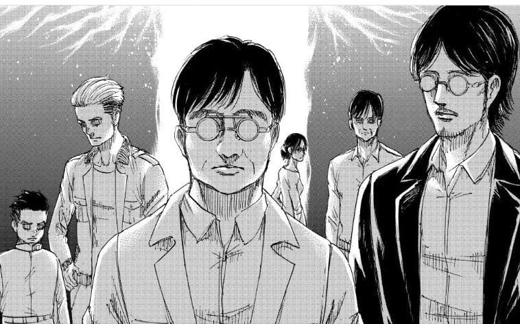Manga Attack on Titan Chapter 137, Kematian Zeke dan Terhentinya Rumbling 7