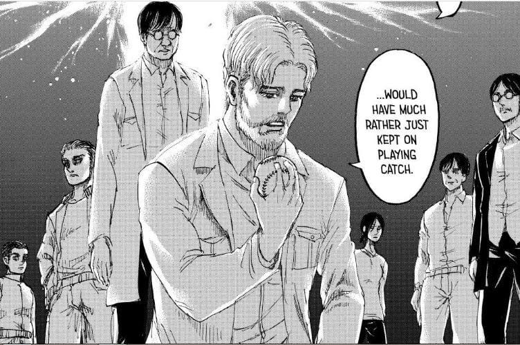 Manga Attack on Titan Chapter 137, Kematian Zeke dan Terhentinya Rumbling 11