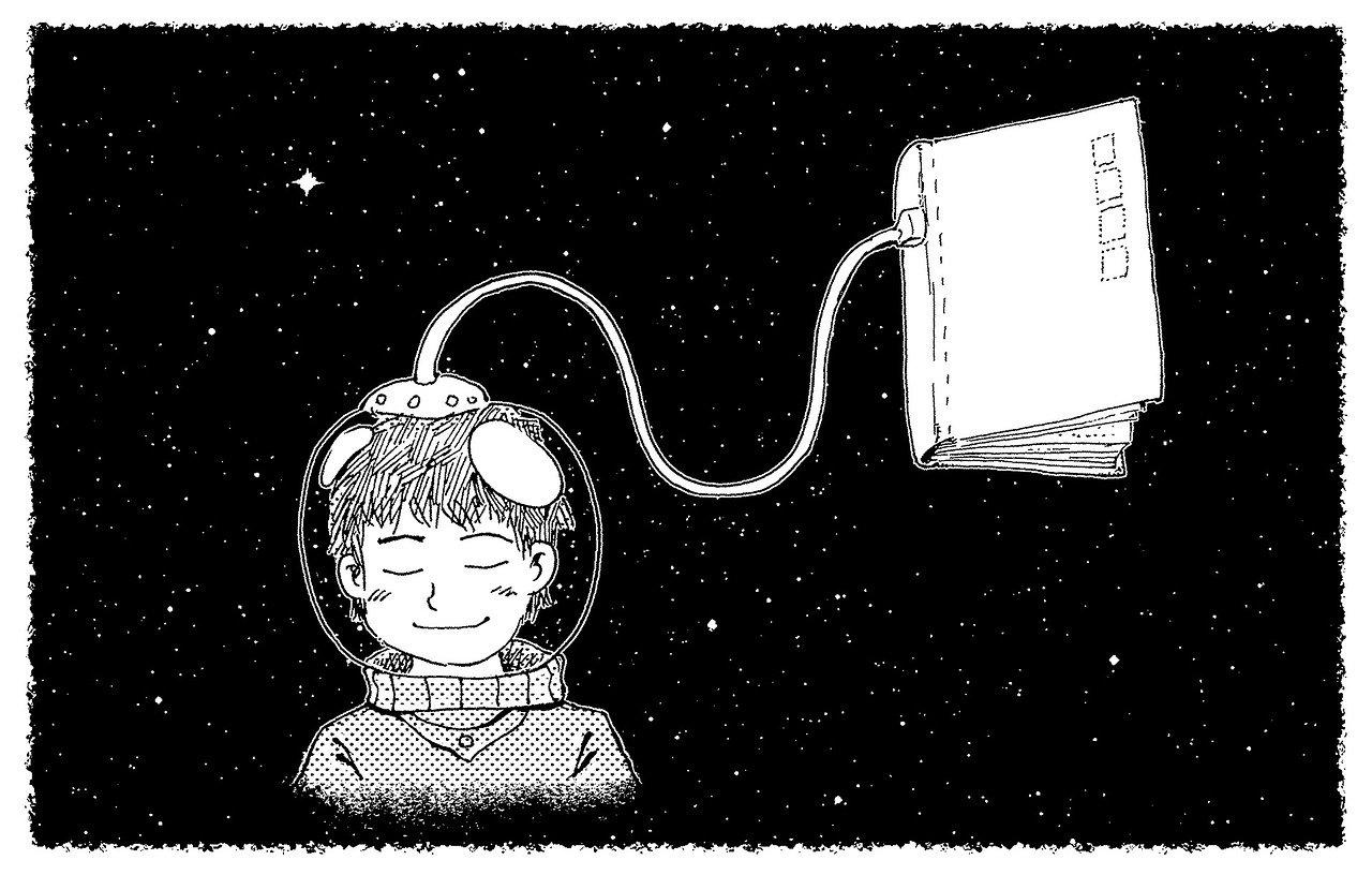 Sumber :https://pixabay.com/id/illustrations/dongeng-fantasi-mimpi-malam-kosmos-1077863/
