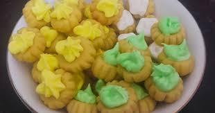 "Sering disebut ""Kue monas"" atau ""kue kancing"", nama kue ini sebenarnya ""Gem Rose"" 4"
