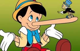 Semua orang pasti mengenal Pinokio merupakan tokoh kartun yang memiliki hidung yang panjang jika dia suka memutar balikkan fakta atau berbohong.