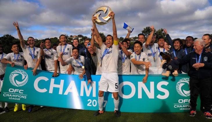 Auckland juara liga champions oseania