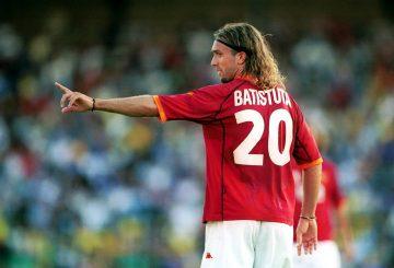 Gabriel Batistuta, Mesin Gol Terbaik Sepanjang Masa 8