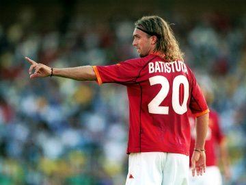 Gabriel Batistuta, Mesin Gol Terbaik Sepanjang Masa 13