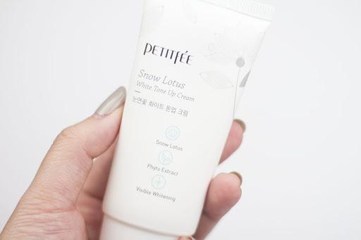 PETITFEE Snow Lotus White Tone Up Cream