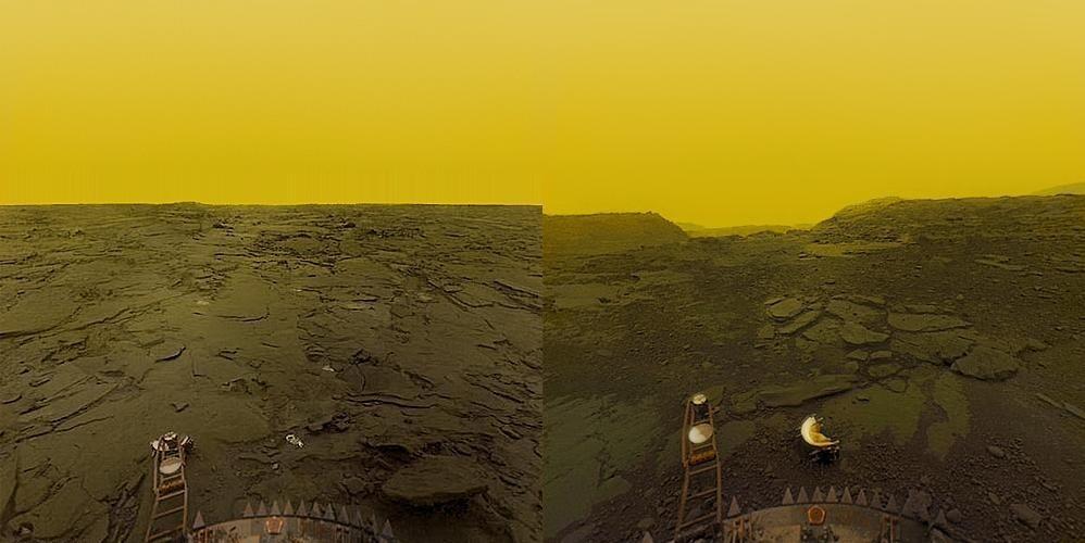 Foto permukaan Venus diambil oleh Venera 13
