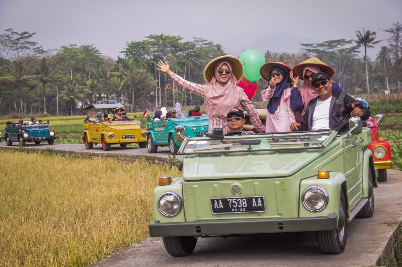 Lima Kendaraan Unik Yang Akan Membawamu Keliling Borobudur 7