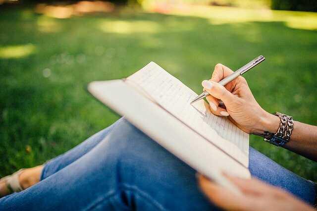 Kemauan dan aksi untuk menulis