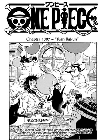 Review One Piece Chapter 1007 13