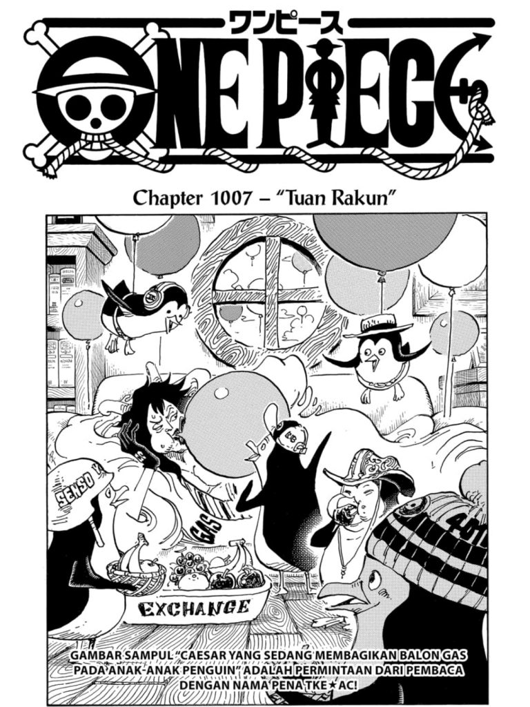 Review One Piece Chapter 1007 1