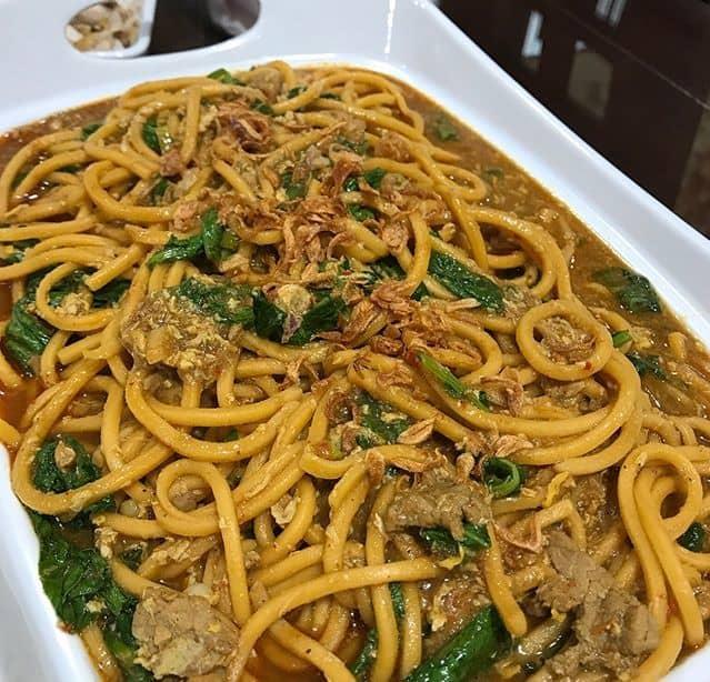 Resep Spaghetti Tanah Batak (Mie Gomak) 4