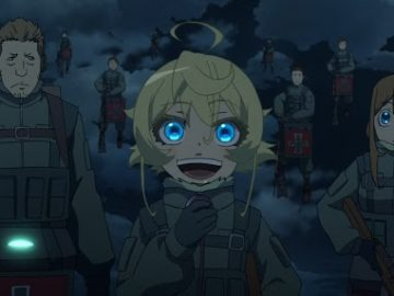 [REVIEW ANIME] Youjo Senki – Non Generic Isekai Si Loli Over Power 8