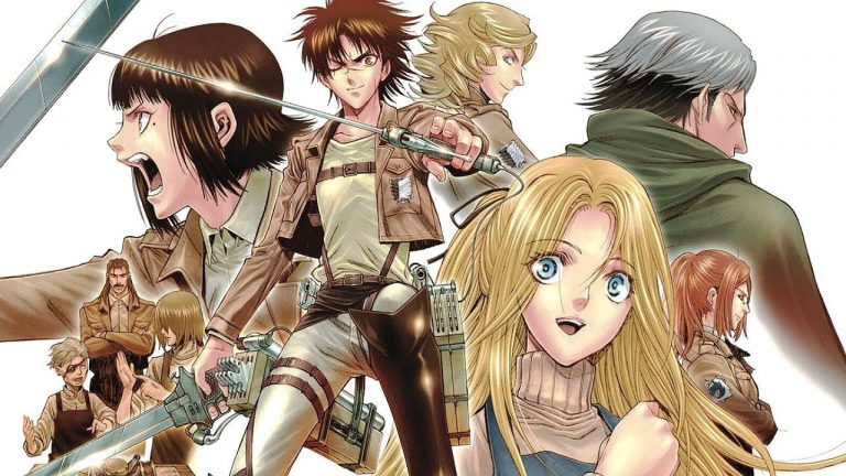Mengulas Fakta Penting Di Manga Shingeki No Kyojin : Before The Fall 1