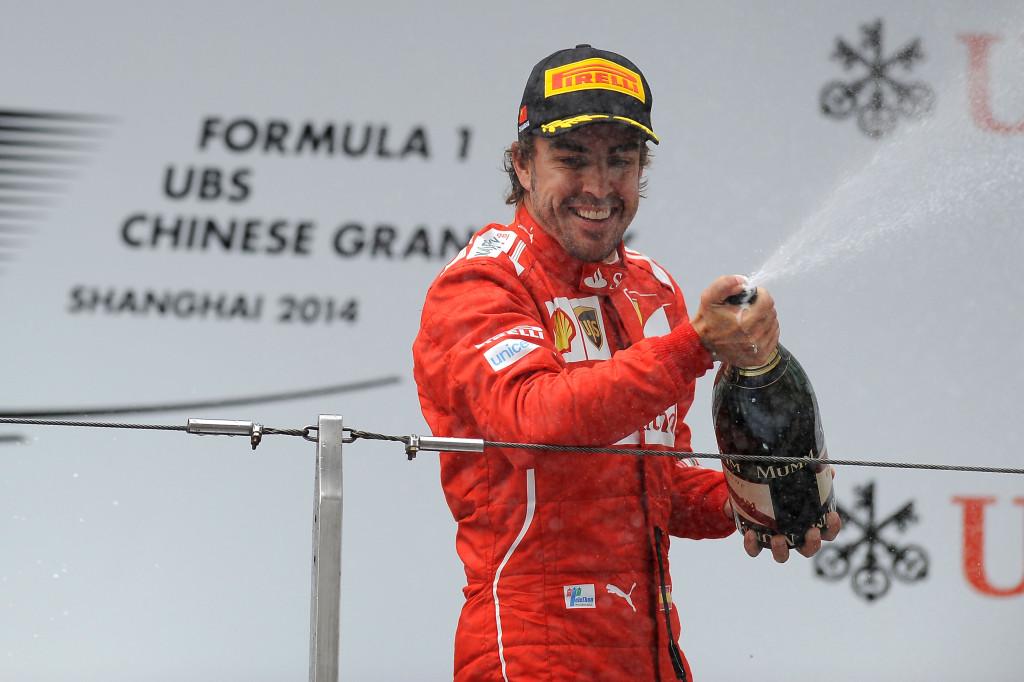 Fernando Alonso di Ferrari. Sumber:f1zone