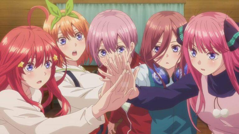 [REVIEW ANIME] Gotoubun No Hanayome - Anime Harem Dengan 5 Gadis Kembar 1