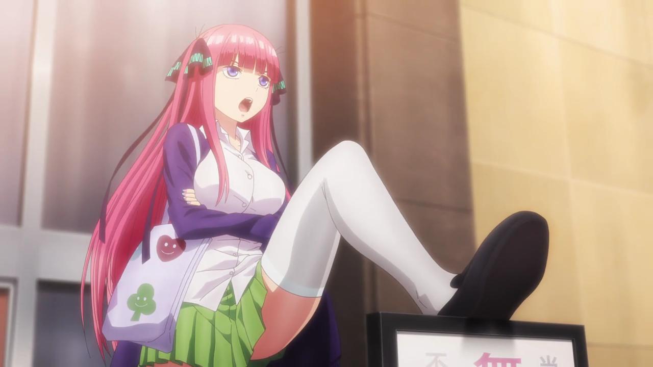 [REVIEW ANIME] Gotoubun No Hanayome - Anime Harem Dengan 5 Gadis Kembar 4